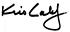 kris calef signature